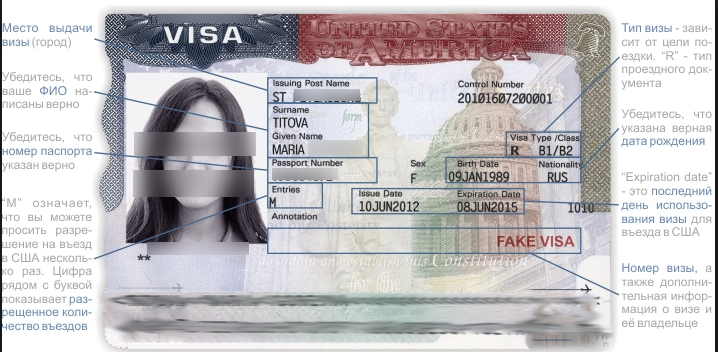 Американская виза - СПРАВКА ИНФОРМ - SpravkaInform