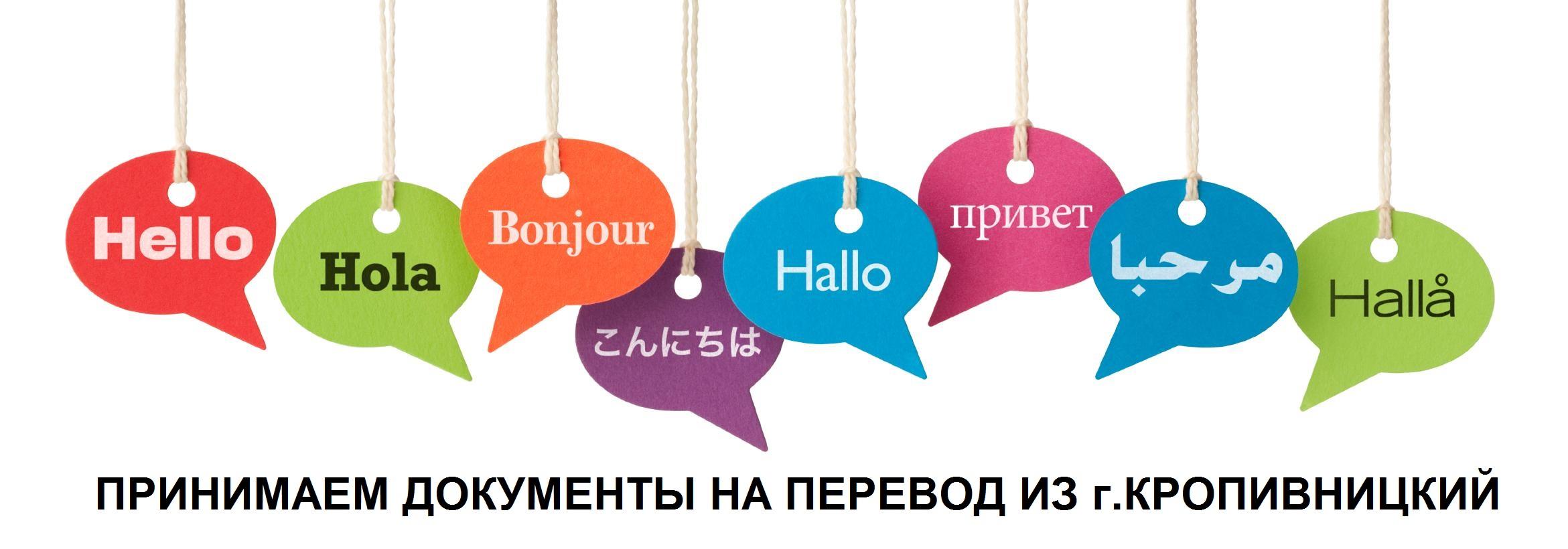 ПРИНИМАЕМ ДОКУМЕНТЫ НА ПЕРЕВОД ИЗ г.КРОПИВНИЦКИЙ - SpravkaInform.com.ua